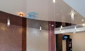 Доставка и монтаж на лунички полилеи в опънати тавани и окачени тавани.