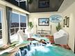 3Д проект на хол - опънат таван, окачен таван от гипсокартон и 3Д под.