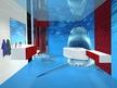 Проект на 3Д под и 3Д стена в баня - Акула.