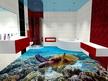 3Д подове - 3д под в баня - Морско дъно с костенурка.