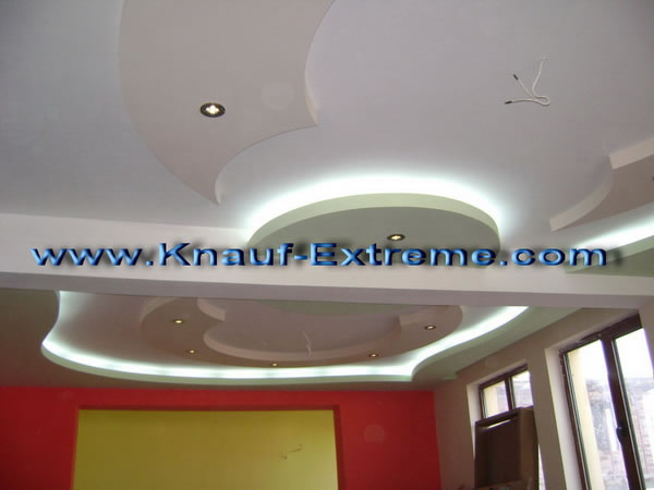 Gallery interior suspended drywall ceilings, plasterboard ceilings ...