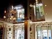 Опънати тавани София - огледален опънат таван цвят - Шоколад в хол.